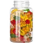 8 oz. (250 cc) Clear PET Plastic Packer Bottle, 45mm 45-400