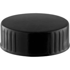 33mm 33-400 Black Plastic Cap w/Poly Cone Insert (Polyseal®)