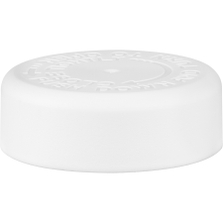 38mm 38-400 White Smooth Child Resistant Cap (PDT) w/Universal TE HIS Liner