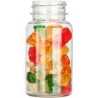 2.5 oz. (75 cc) Clear PET Plastic Packer Bottle, 33mm 33-400