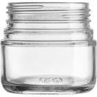 3 oz. Straight Sided Glass Jar, Thick Wall, 53mm 53-400