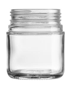 4 oz. Straight Sided Glass Jar, Thick Wall, 53mm 53-400