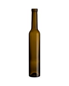 375 ml Antique Green Bellissima Ice Wine Bottles, Bar Top Cork