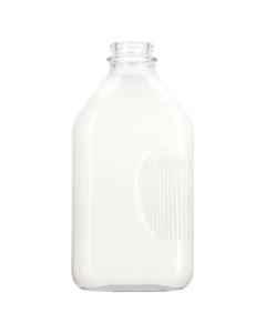 64 oz. Half Gallon Glass Milk Bottle
