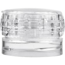 43mm 43-485 Clear Elegant Adjustable Spice Grinder Cap, Unlined