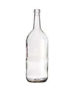 1.5 L Clear Bordeaux Wine Bottles, Cork