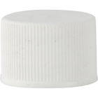 20mm 20-410 White Plastic Cap with Pulp Backed Heat Induction Liner for PET