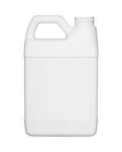 24 oz. White HDPE Plastic F-Style Bottle, 33mm 33-400, 55 Grams