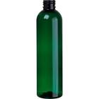 2 oz. Green PET Plastic Bullet Bottle, 20mm 20-410
