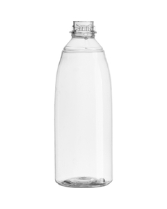 20 oz. Clear PET Plastic Flairosol™ Spray Bottle, Bayonet Neck