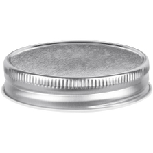 70mm 70G-450 Silver Metal Cap w/ Plastisol Liner