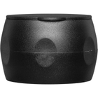 24mm Black Snap-On Non Removable Spice Grinder Cap, Unlined