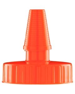 38mm Hi Flow Glow Orange Spout Cap Unlined 1000/bx