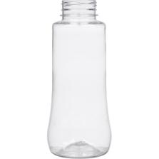 12 oz. (375ml) Clear PET Plastic Spice Jar, 38mm 38-3STRT