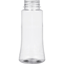 8 oz. (250ml) Clear PET Plastic Spice Jar, 38mm 38-3STRT