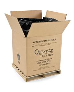 "36"" x 36"" x 36"" Bulk-Size Corrugated HazMat Cubic Yard Box, 2,000 lb. Capacity (UN-Rated)"