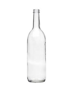 750 ml Clear Bordeaux Wine Bottle, 28mm 28-400
