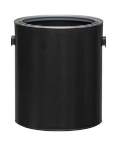 1 Gallon Black Hybrid Paint Can with Ears (Bulk Pack)