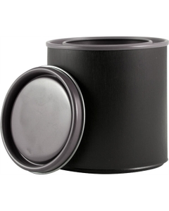 1/2 Pint Black Hybrid Paint Can with Lid