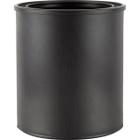 1 Quart Black Plastic Paint Can (Bulk Pack)