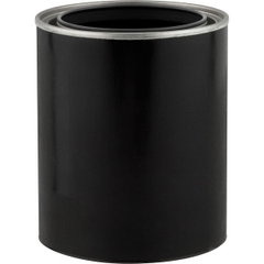 1 Pint Black Hybrid Paint Can (Bulk Pack)
