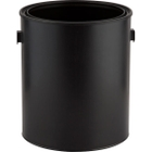 1 Gallon Black Plastic Paint Can with Ears, New Style (Bulk Pack)