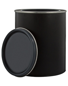 1 Pint Black Hybrid Can with Lid