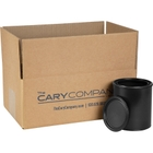 1 Quart Black Plastic Paint Can with Lid (Re-Shipper Pack)