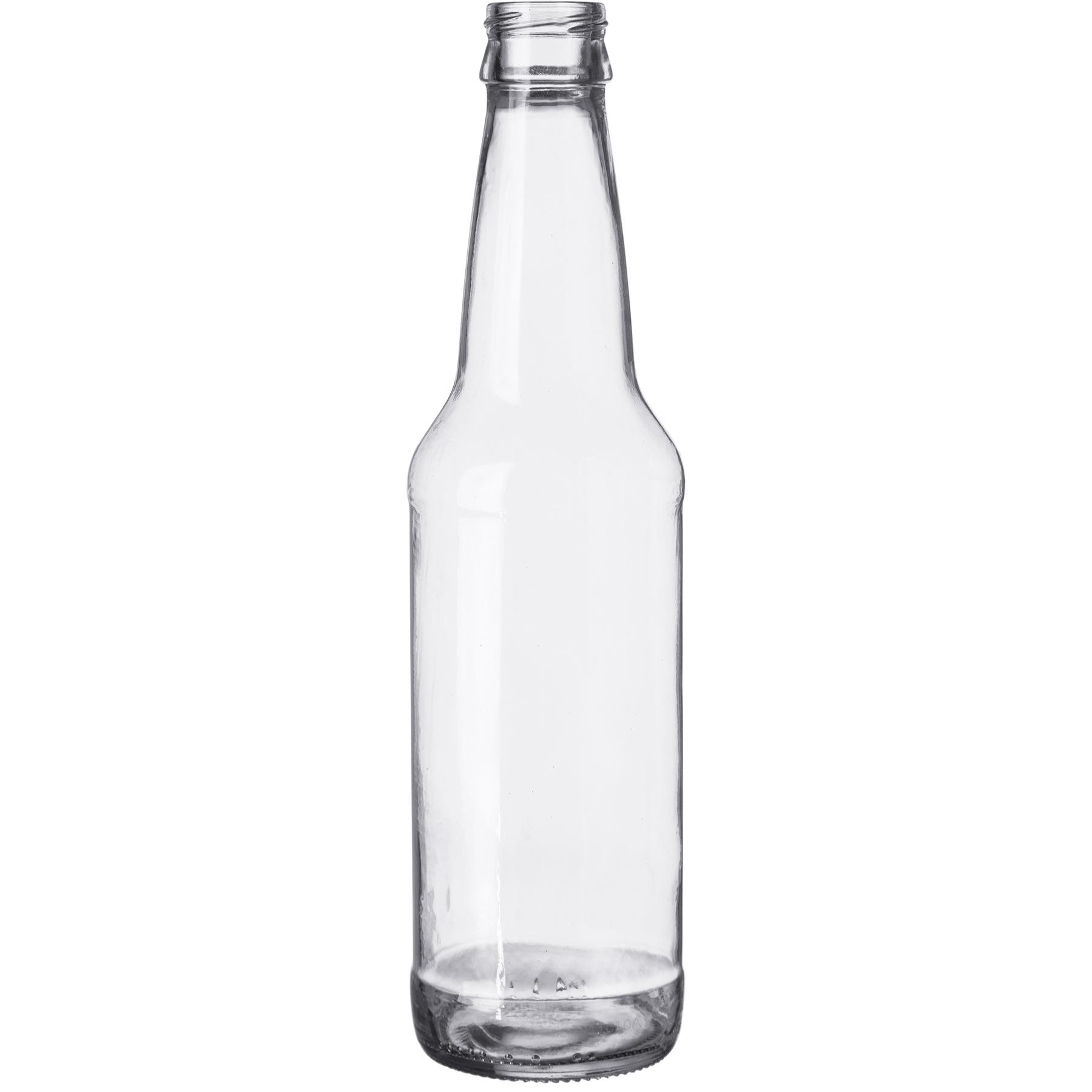 789ee88ad60b 12 oz. (355 ml) Clear Glass Long Neck Beer Bottle, Crown Twist-Off, 26-502,  24/cs
