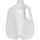 1 Gallon (128 oz.) Natural HDPE Plastic Dairy Milk Jug, 38mm 38-400