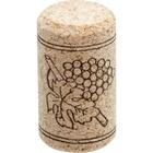 Neutrocork® Micro-Agglomerated Wine Corks, Print, 38 x 21 mm (#7), 100/pk