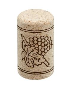 Neutrocork® Micro-Agglomerated Wine Corks, Print, 38 x 22 mm (#8), 100/pk