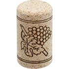 Neutrocork® Micro-Agglomerated Wine Corks, Print, 38 x 22 mm (#8), 1,000/pk