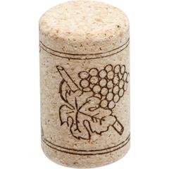Neutrocork® Micro-Agglomerated Wine Corks, Print, 38 x 23 mm, 1,000/pk