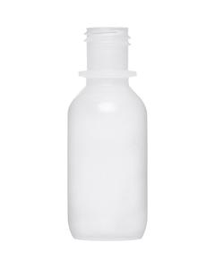1/2 oz. Natural Boston Round LDPE Bottle, 15mm 15-415