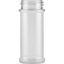 5.5 oz. Clear PET Plastic Spice Jar, 48mm 48-485