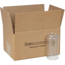 16 oz. Clear PET Plastic Spice Jar, 63mm 63-485, 12x1 Reshipper Box