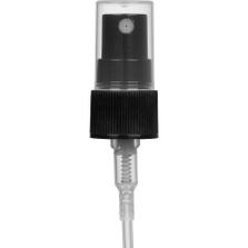 "Black Mist Sprayer Pump with 3-1/4"" Dip Tube, 20mm 20-410"