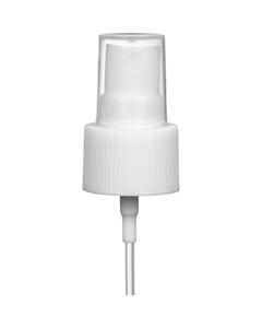 "White Mist Sprayer Pump with 7"" Dip Tube, 24mm 24-410"