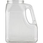 96 oz. Clear PETG Plastic Premier Oblong Jar with Handle, 89mm 89-400