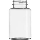 6 oz. (175 cc) Clear PET Plastic Packer Bottle, 38mm 38-400