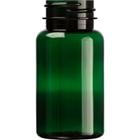 2.5 oz. (75 cc) Dark Green PET Plastic Packer Bottle, 33mm 33-400