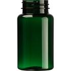 4 oz. (120 cc) Dark Green PET Plastic Packer Bottle, 38mm 38-400