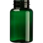 7.5 oz. (225 cc) Dark Green PET Plastic Packer Bottle, 45mm 45-400