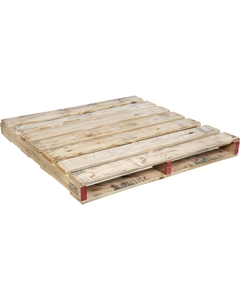 """48"""" x 48"""" Used Wood Pallet, 2-Way Fork Access"""
