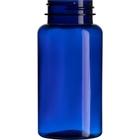 5 oz. (150 cc) Cobalt Blue PET Plastic Packer Bottle, 38mm 38-400