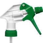 """Green/White Shipper Trigger Sprayer, 9-1/2"""" Dip Tube, 28mm 28-400"""