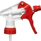 """Red/White Trigger Sprayer, 9-1/4"""" Dip Tube, 28mm 28-400"""