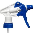 """Blue/White Trigger Sprayer, 9-1/4"""" Dip Tube, 28mm 28-400"""