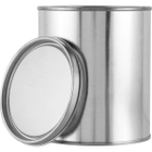 1 Quart Metal Paint Can with Lid, Unlined